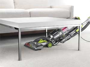 Hoover Air Steerable WindTunnel - Maneuvering under table